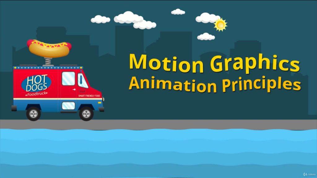 AE运动图形教程 After Effects CC 2019 运动图形与动画原理 Motion Graphics动画