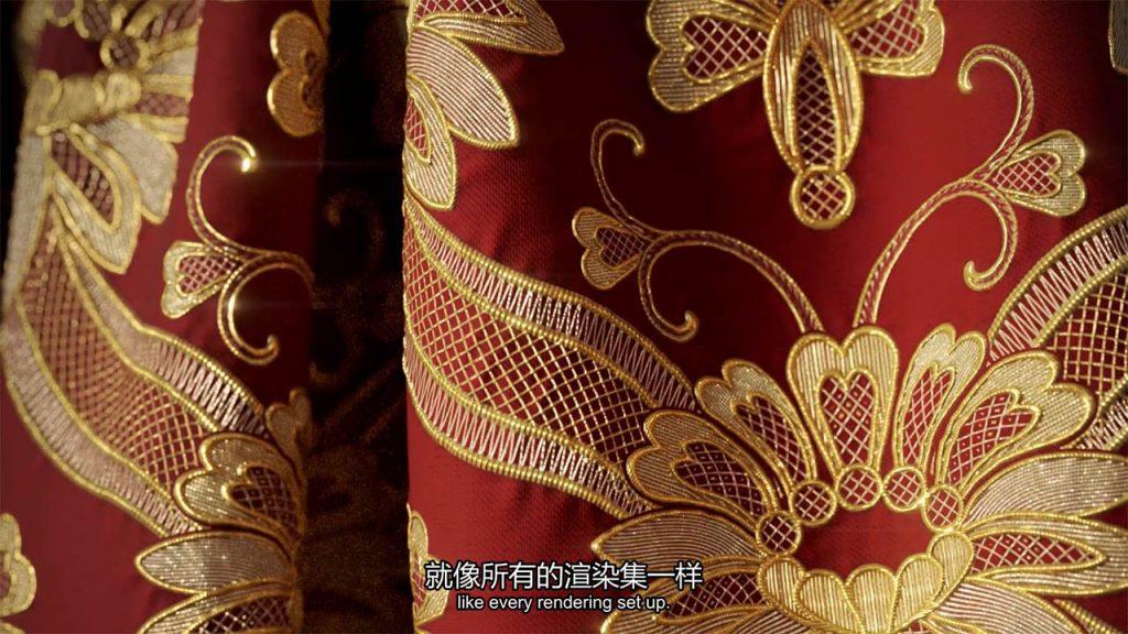 Substance Designer刺绣针织纹理,SD丝绸布料纹理材质教程(图10)