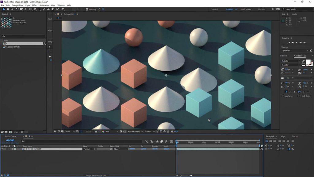 Cinema 4D 制作无限循环场景动画教程 C4D Redshift教程