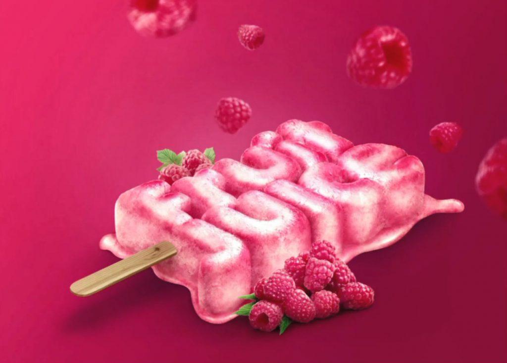 Cinema 4D 冰淇淋产品视觉广告渲染合成 C4D+PS制作商品海报