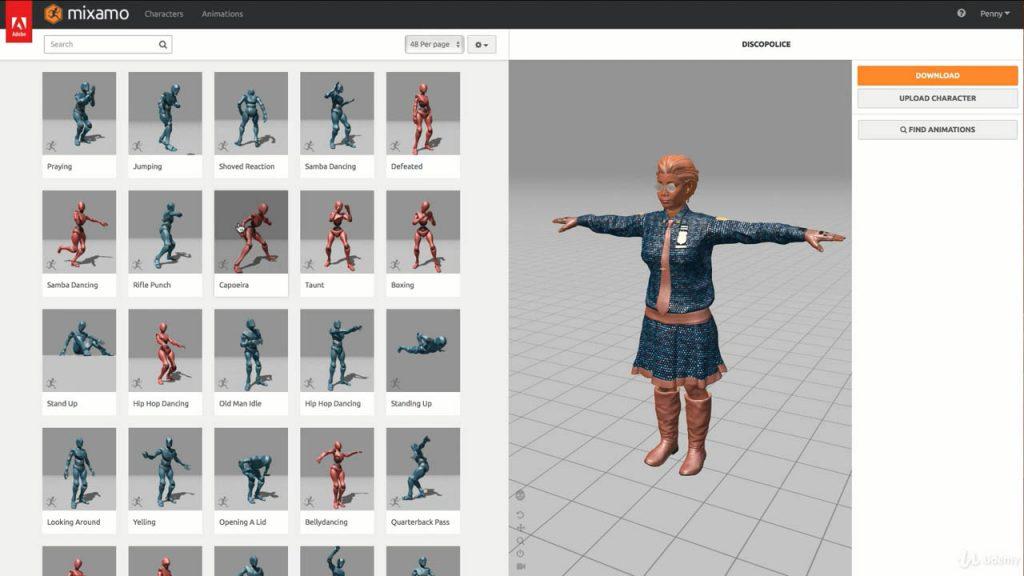 Unity 2019 动画交互教程 Animation in Unity Mecanim