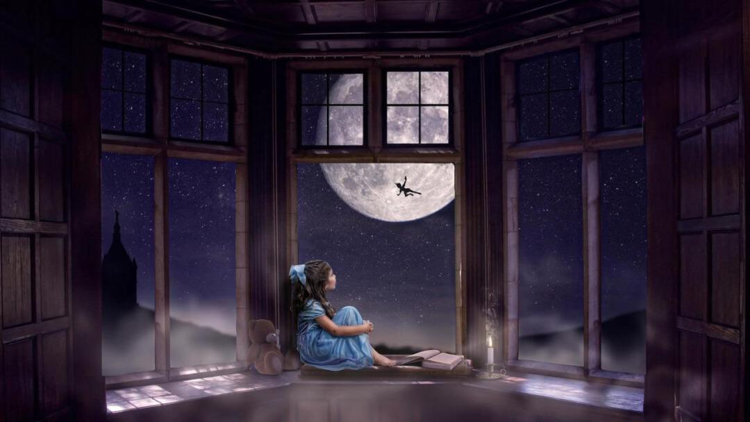 PS月夜场景合成教程 Photoshop梦幻气氛图教程