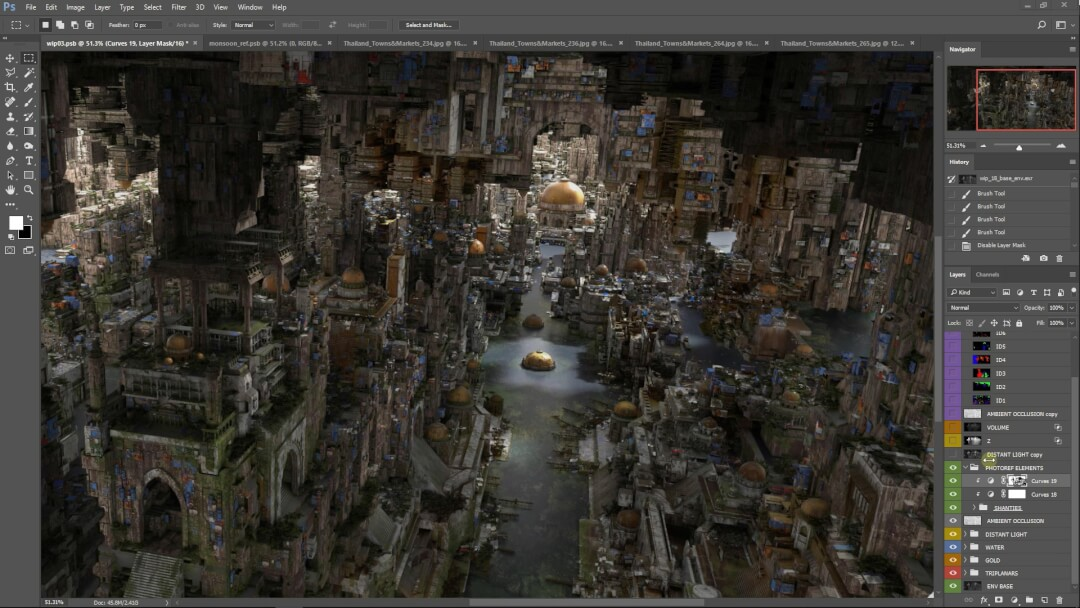 Large Scale Environment Creation – DNEG Tutorial 1-35