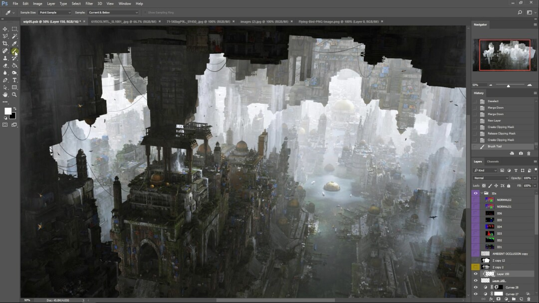 Large Scale Environment Creation – DNEG Tutorial 36-63