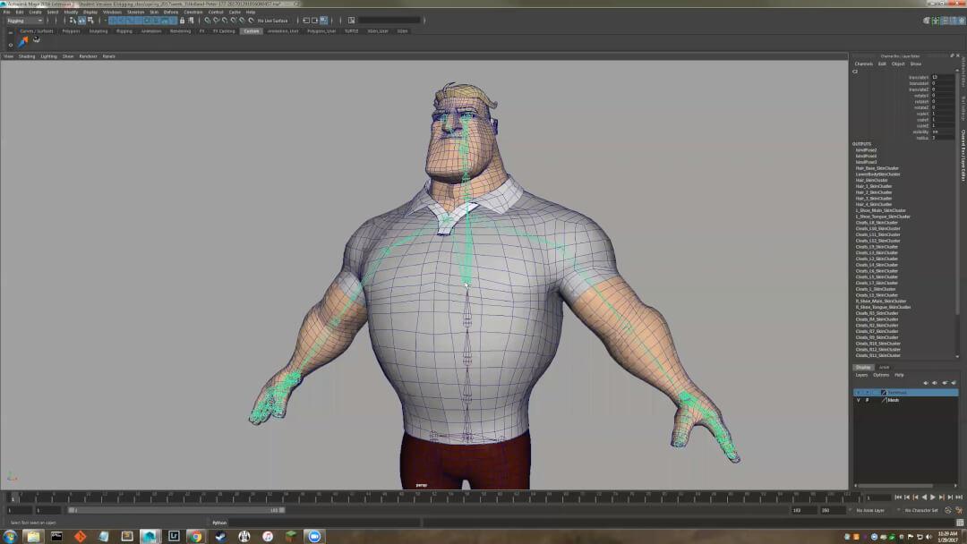 AnimSchool – Maya Intermediate Rigging